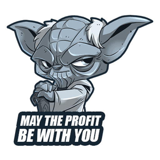 telegram forex stickers for trader forex may the profit be with you