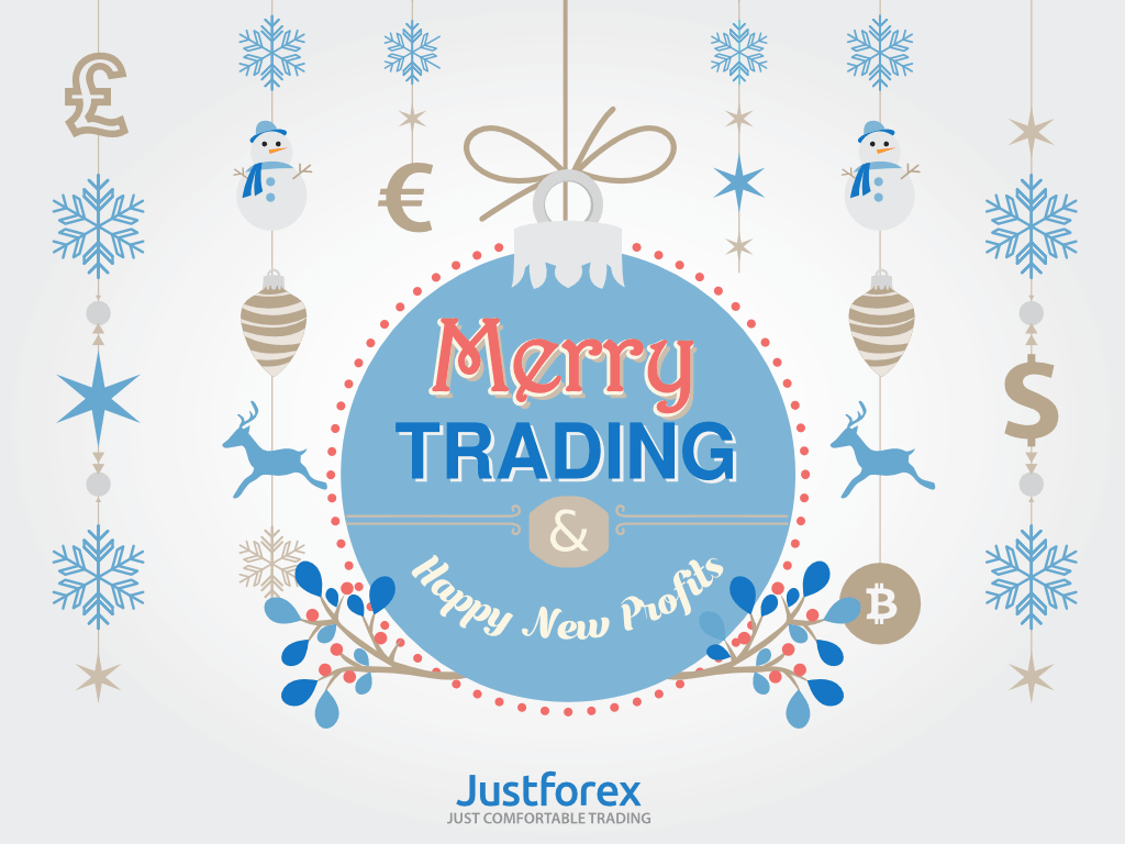 JustForex wishes you Merry trading and Happy New Year