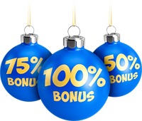 Holiday Deposit Bonus